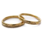 gold platinum rings