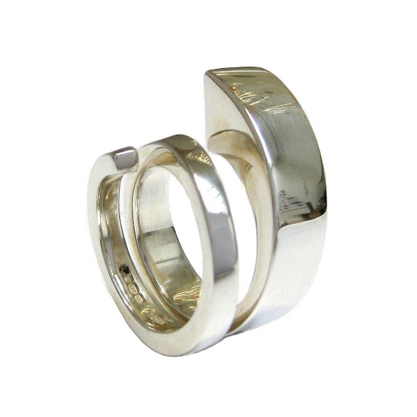Fairmined silver ring