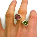 Twist-tourmaline-peridot-ring