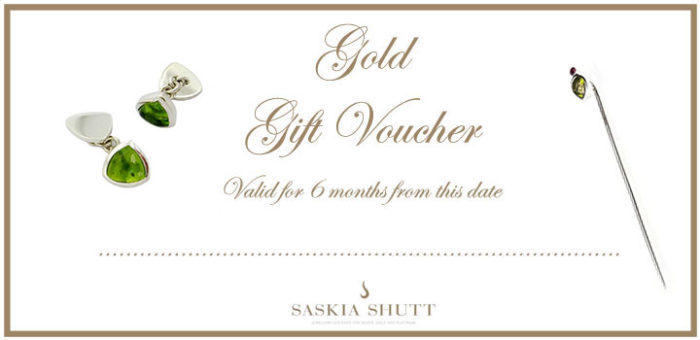 Jewellery Gift Voucher Gold