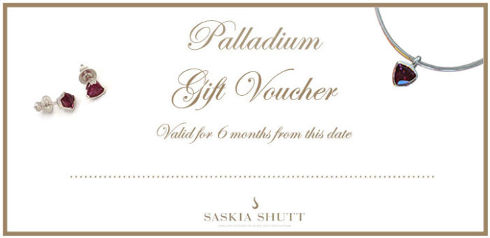 Jewellery Gift Voucher Palladium