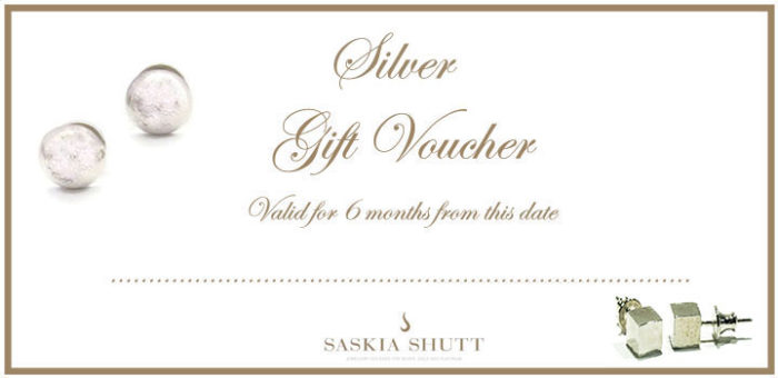 Jewellery gift voucher Silver