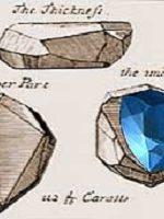 Famous blue diamond