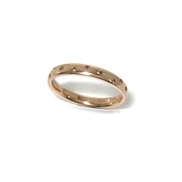 Fairmined gold and diamond ring