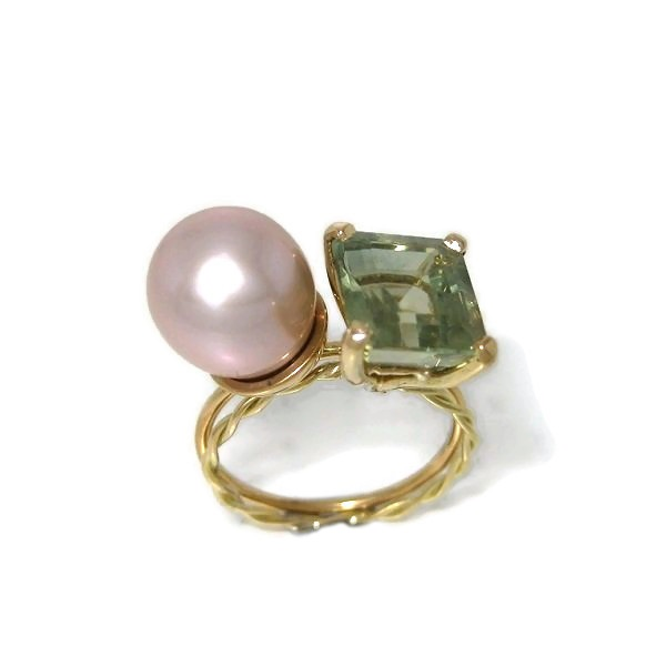 Fairmined gold and gemstone rings