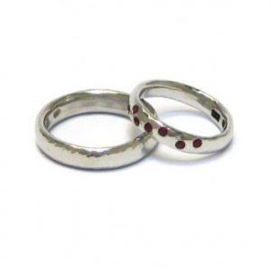 Saskia Shutt Wedding Rings