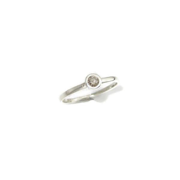 diamond silver ring