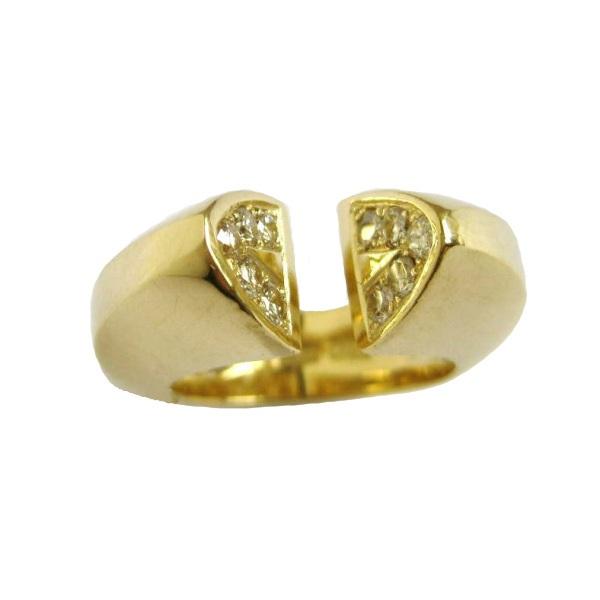 diamond yellow ring